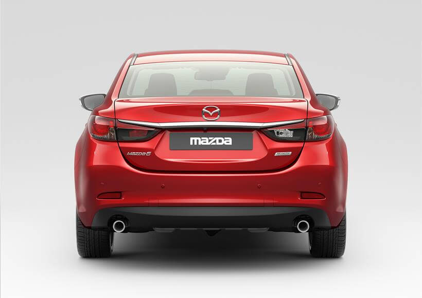 Mazda 6 - 2015 рестайлинг - вид сзади