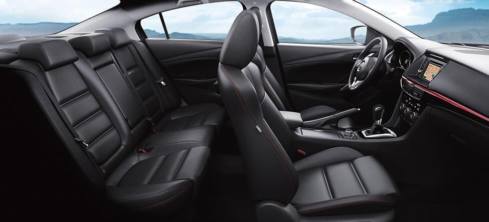 Mazda 6 - 2015 рестайлинг - интерьер, фото салона