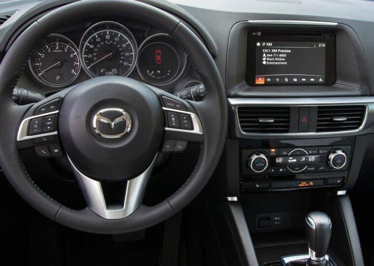 Новая Mazda CX-5 2015 года - интерьер