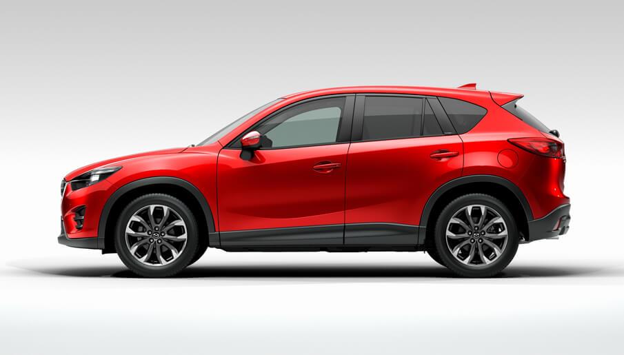 Новая Mazda CX-5 2015 года - экстерьер