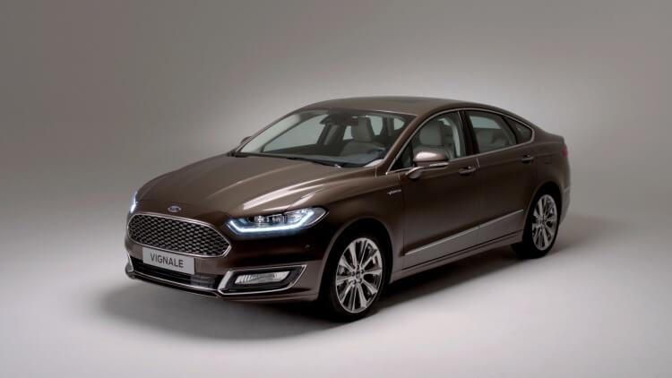 Новый Ford Mondeo Vignale - фото внешний вид