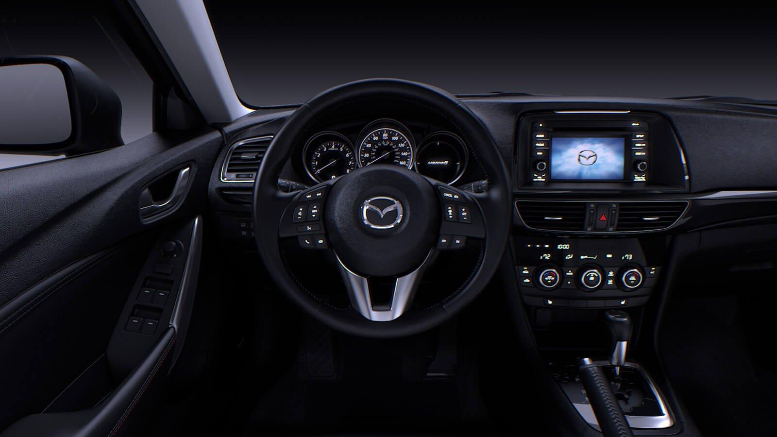 Mazda 6 - 2015 рестайлинг - фото салона