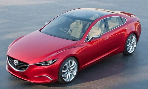 Mazda 6 - 2015 рестайлинг - фото экстерьер