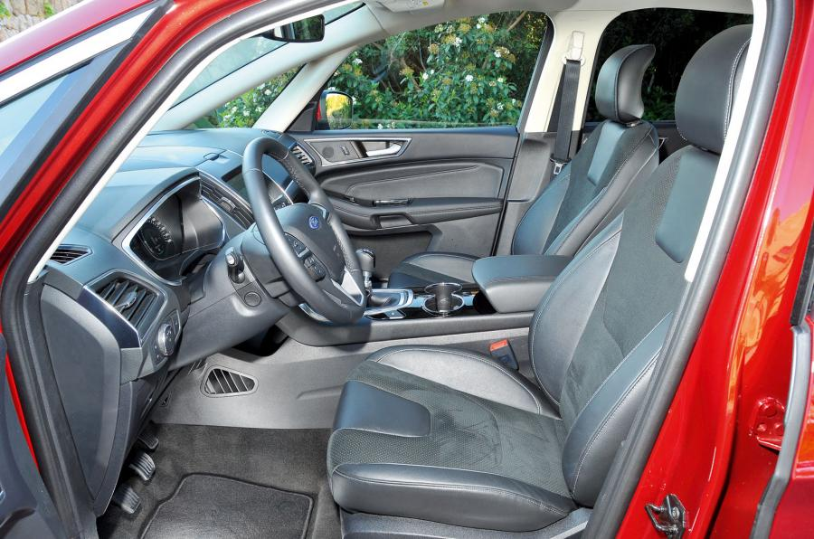 Ford S-max 2015 - салон