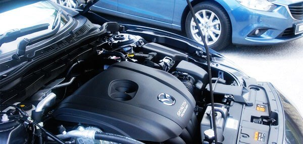 Замена подушки в двигателе МАЗДА (Mazda 2, 3, 6, CX-5, CX-7, CX-9, Tribute)