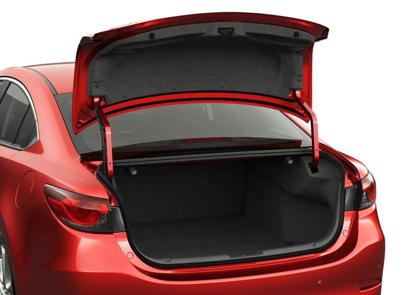 Mazda 6 - 2015 рестайлинг - фото багажник