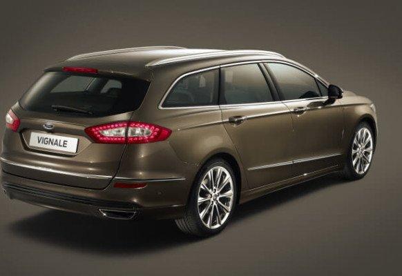 Новый Ford Mondeo Vignale — фото внешний вид