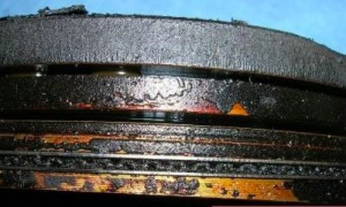 Износ маслосъемных колец на форде